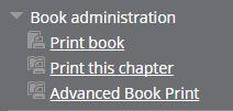 Print book links