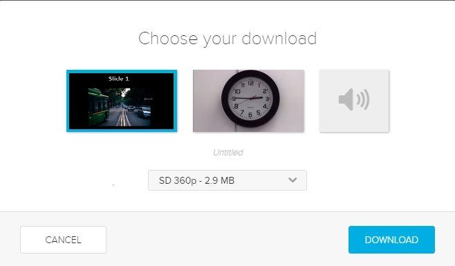 ALP download options