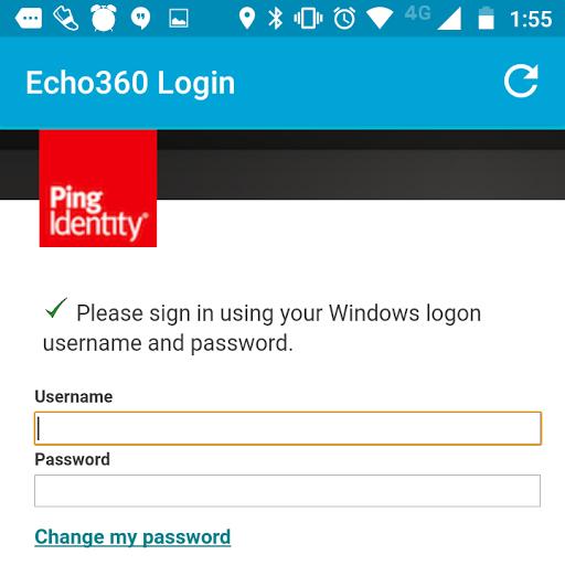 Echo360 login