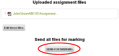 Send for marking